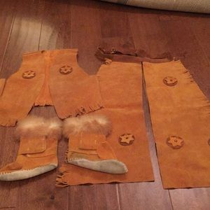 Kids Leather suit